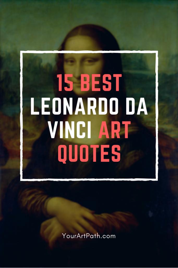 The Best Leonardo Da Vinci Art Quotes