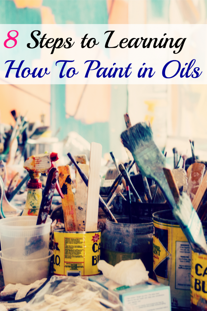8steps to learning how to paint