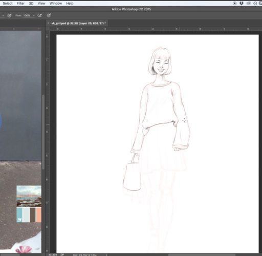 Step-by-Step How to Draw People  (stylized)
