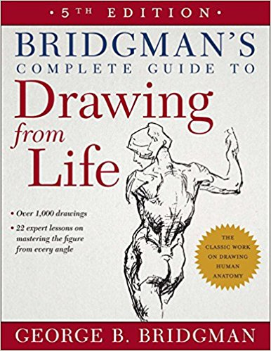 The Best Figure Drawing Books For Artists - Bridgman's Complete Guide to Drawing from Life byGeorge B. Bridgman