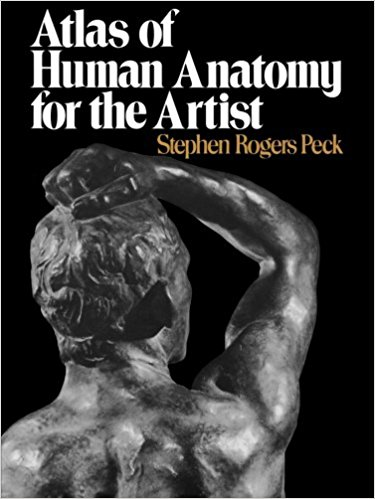 The Best Figure Drawing Books For Artists - Atlas of Human Anatomy for the Artist by Stephen Rogers Peek