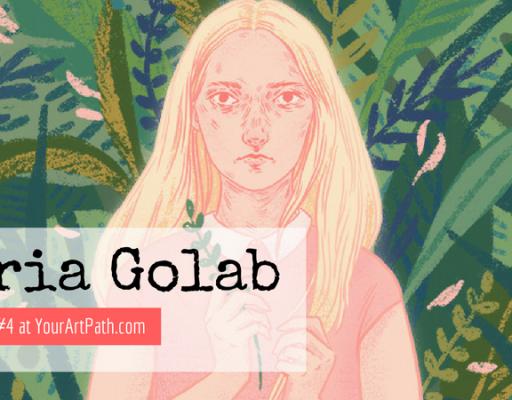 Artist, Illustrator and Graphic Designer Daria Golab (Interview #4)