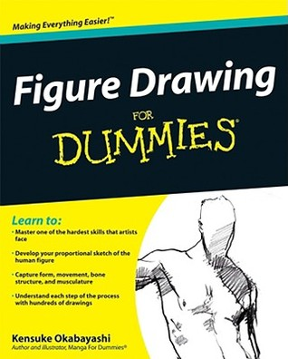 The Best Figure Drawing Books For Artists - Figure Drawing For Dummies byKensuke Okabayashi