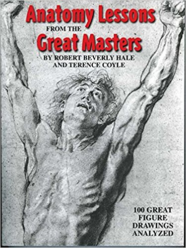 The Best Figure Drawing Books For Artists - Anatomy Lessons From the Great Masters by Robert Beverly Hale