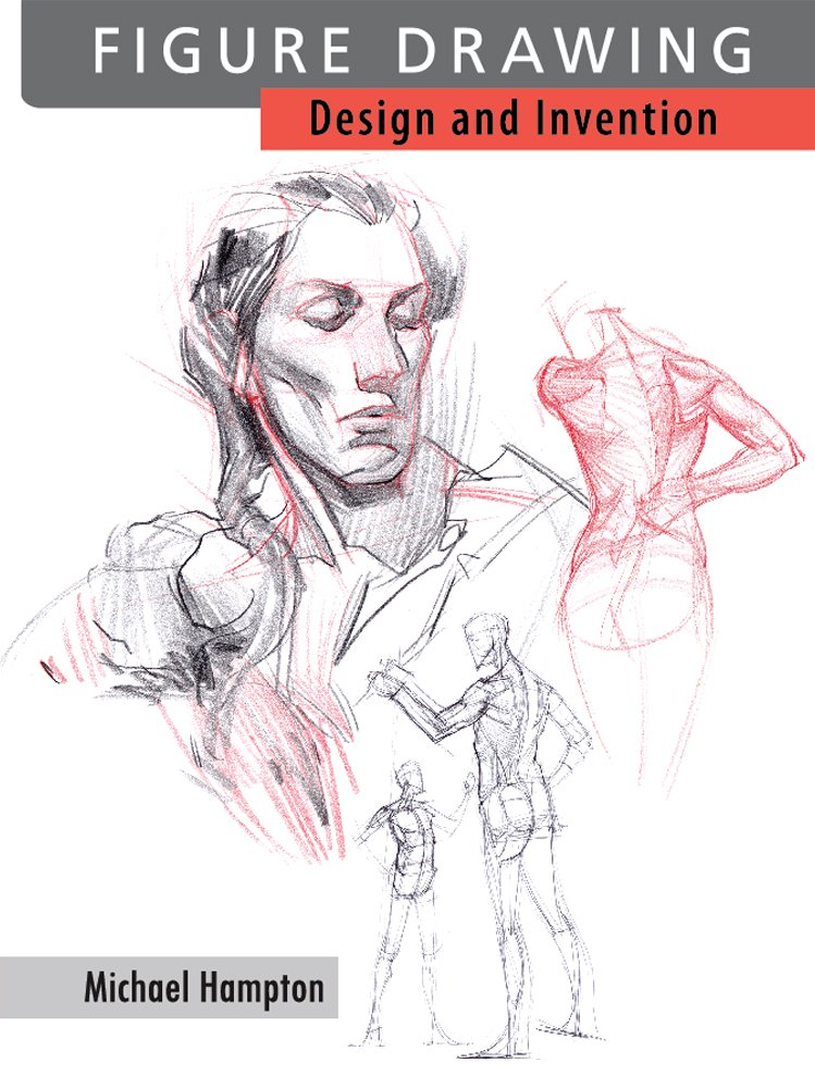 The Best Figure Drawing Books For Artists - Figure Drawing: Design and Invention by Michael Hampton