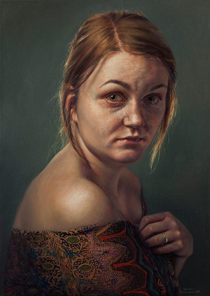 Agnieszka Nienartowicz Self Portrait