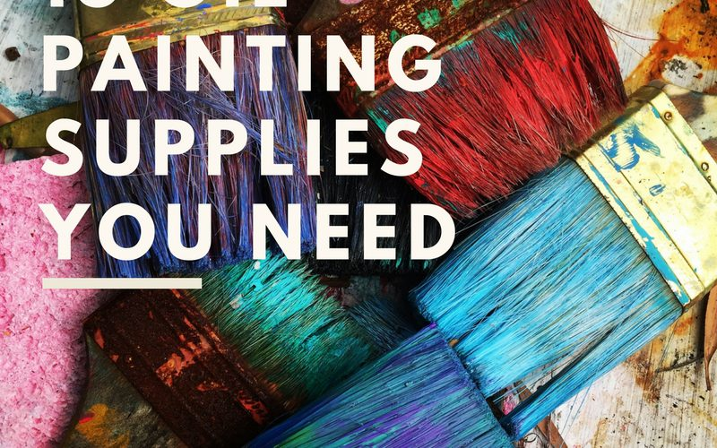 Top 13 Oil Painting Supplies List