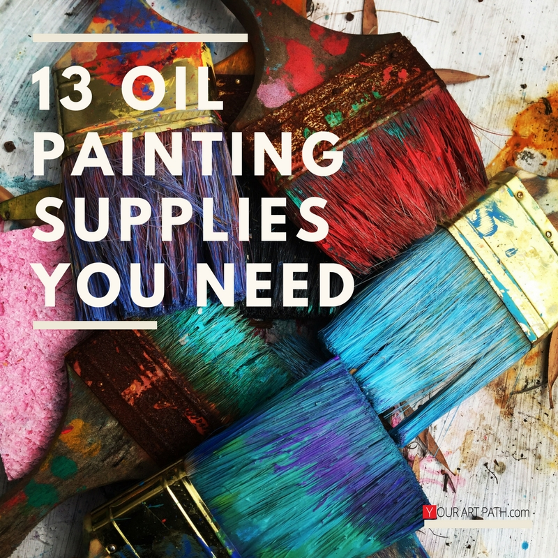 Top 13 oil painting supplies list your art path for Canvas painting supplies