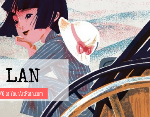 Illustrator and Graphic Designer QU Lan (Interview #6)