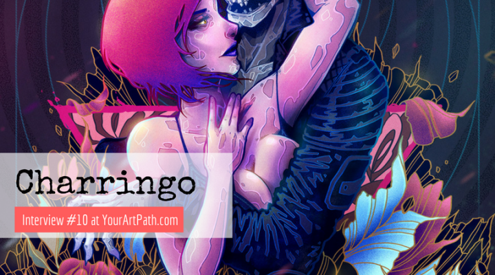 Charringo a Graphic Designer and An Illustrator From Mexico City (Interview #10)