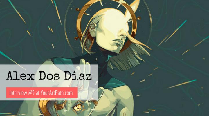 Alex Dos Diaz Uruguay Artist Based in the U.S. (Interview #9)