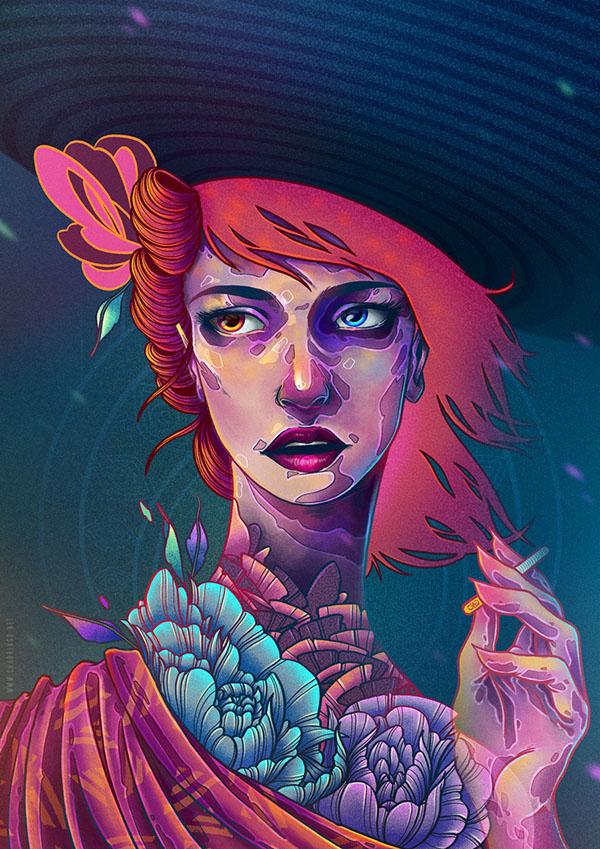 Digital Painting Inspiration Ideas By Charringo