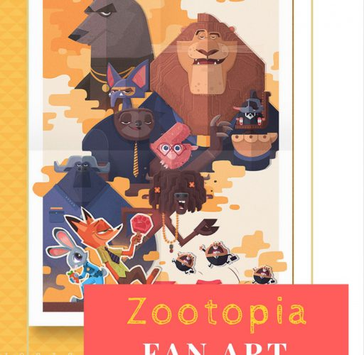 Drawing Tutorial – Disney Fan Art (Zootopia) Poster from Start to Finish by Cynthia Xing