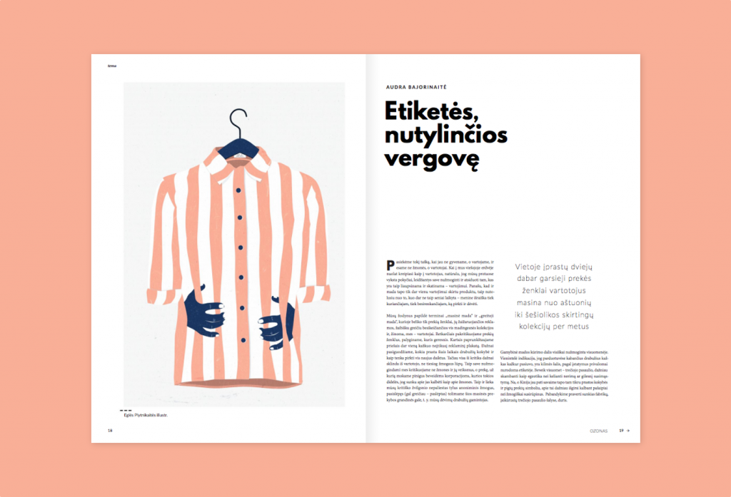 Cheap Clothing Industry Commissioned by OZONAS magazine