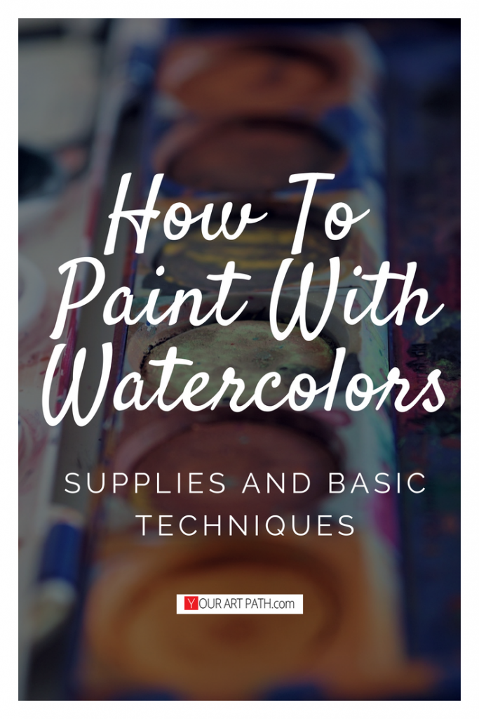 Learn how to paint in watercolour for beginners