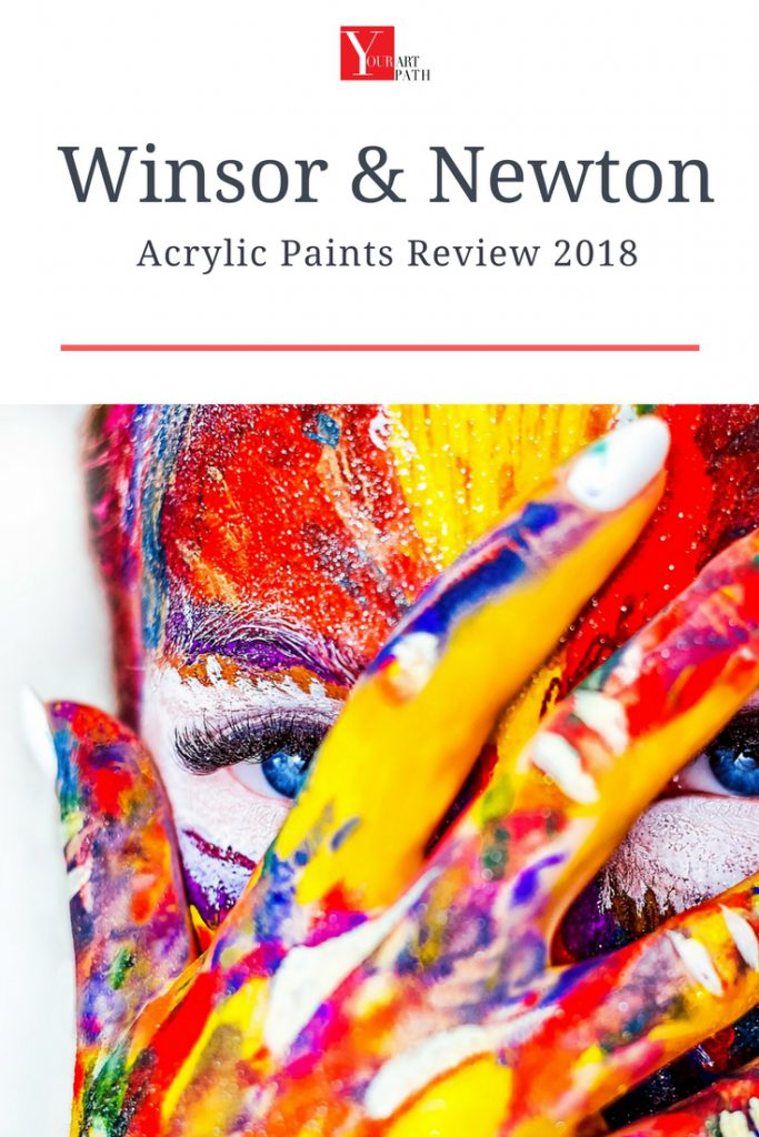 Winsor & Newton Acrylic Paint Review 2018