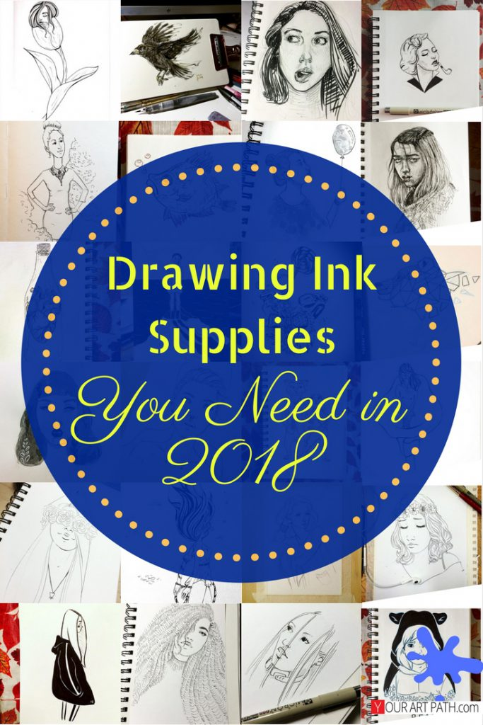 Drawing Ink Supplies You Need in 2018