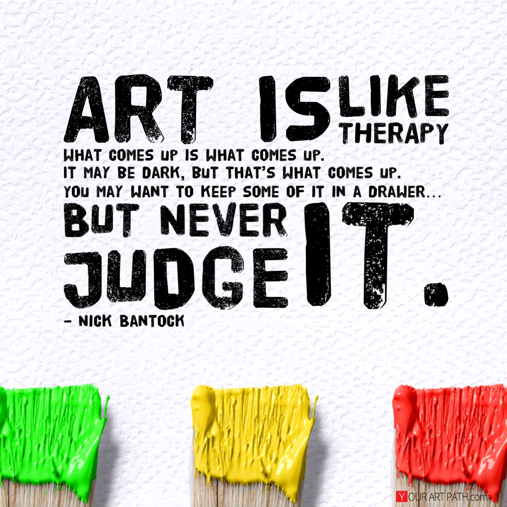 One of the 61 Inspirational Art Quotes that Help me fight my Art Block.