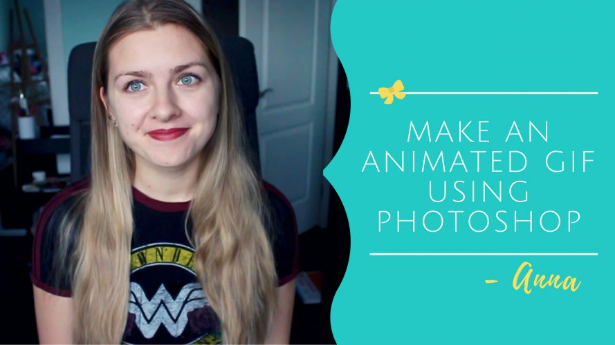 How To Make an Easy Animated GIF using Photoshop