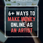 How to make money online as an artist in 2018