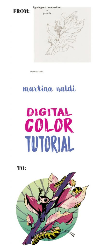 Martina Naldi Digital Color Tutorial
