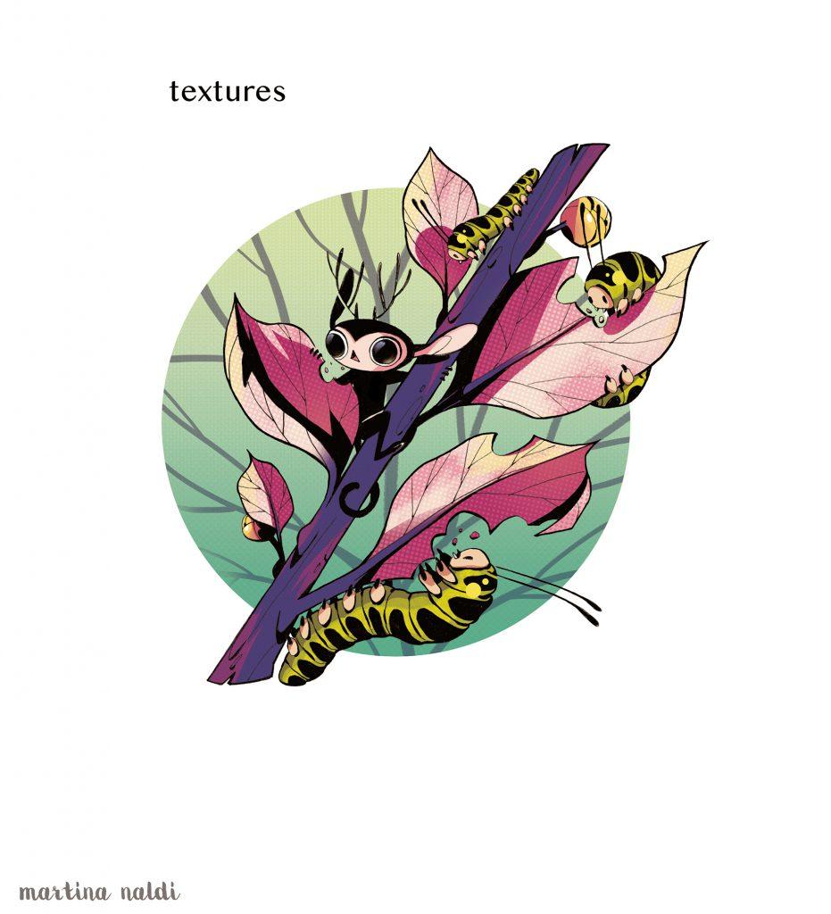 6. Textures + Linework color.