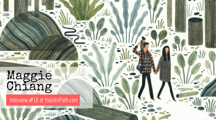 Taiwanese-American Illustrator Maggie Chiang (Interview #16)