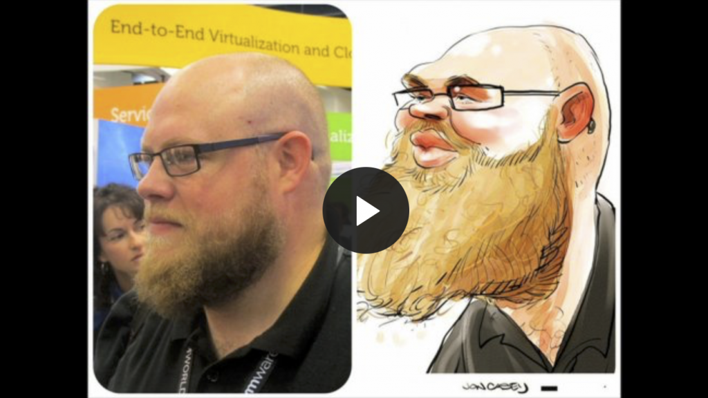 Jon Casey Caricatures