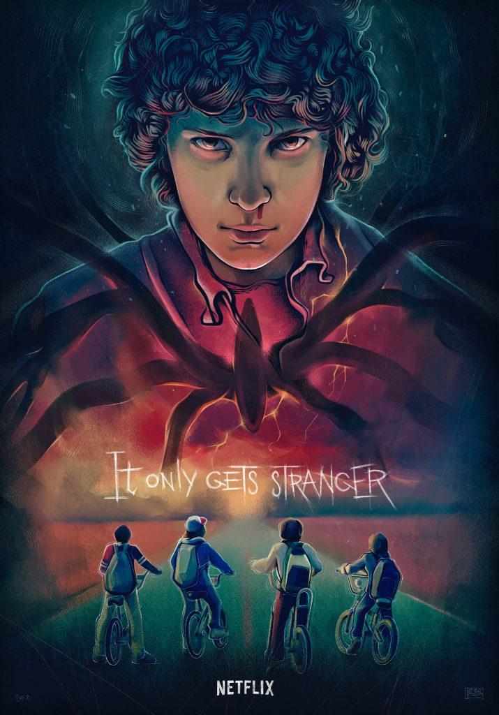 Stranger Things Fan Art by Egor Golopolosov