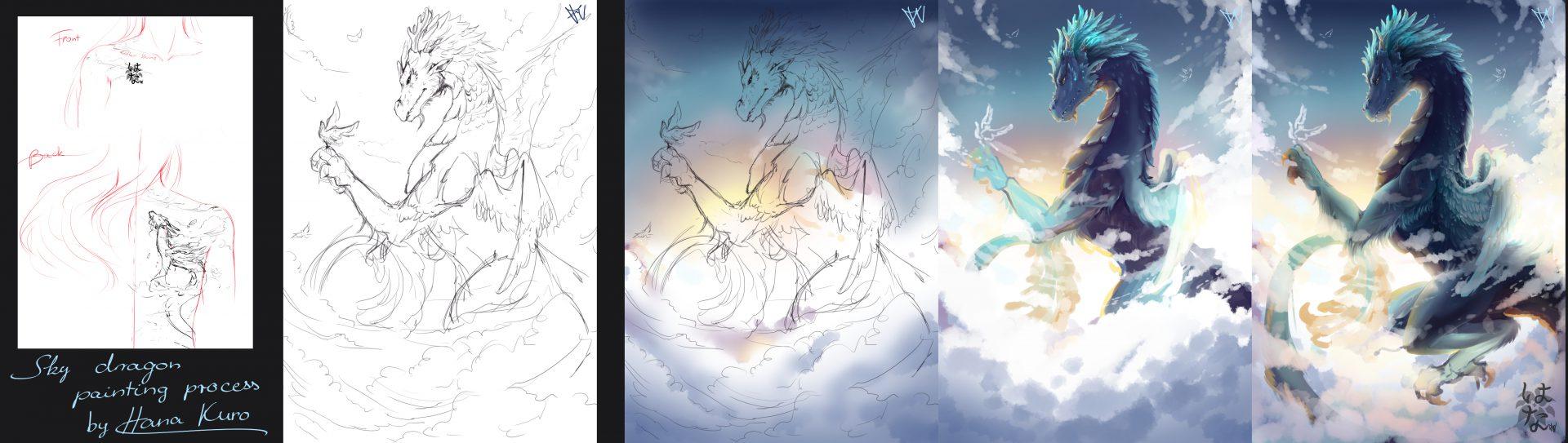 Sky Dragon Process Part 1