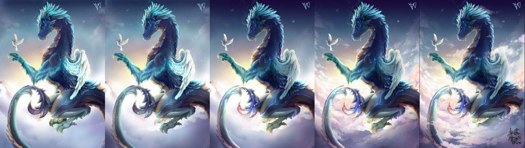 Sky Dragon Process Part 2