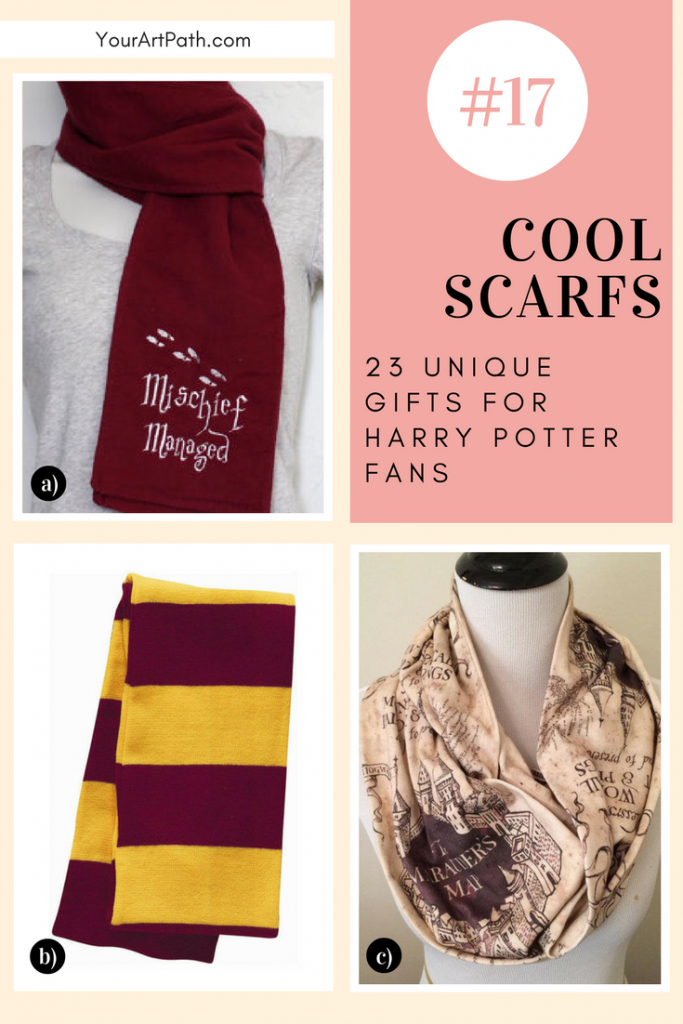 23 Best Gifts For Harry Potter Lovers. They are so magical, that I want them for myself! Featuring - Harry Potter Cool Scarfs!