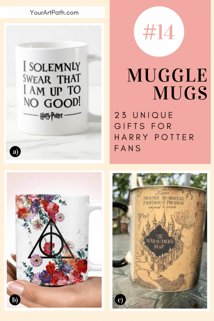 23 Best Gifts For Harry Potter Lovers. They are so magical, that I want them for myself! Featuring - Harry Potter Muggle Mugs!