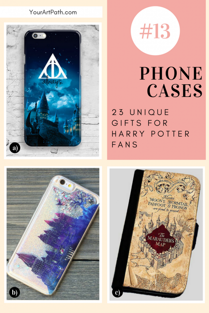 23 Best Gifts For Harry Potter Lovers. They are so magical, that I want them for myself! Featuring - Harry Potter Phone Cases!