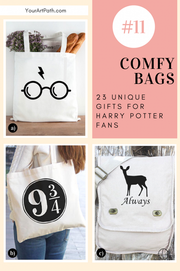 23 Best Gifts For Harry Potter Lovers. They are so magical, that I want them for myself! Featuring - Harry Potter Comfy Bags!