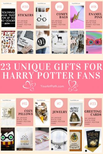 23 Unique Gifts For Harry Potter Fans