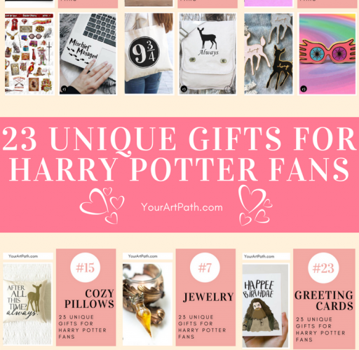 23 Unique Gifts For Harry Potter Fans