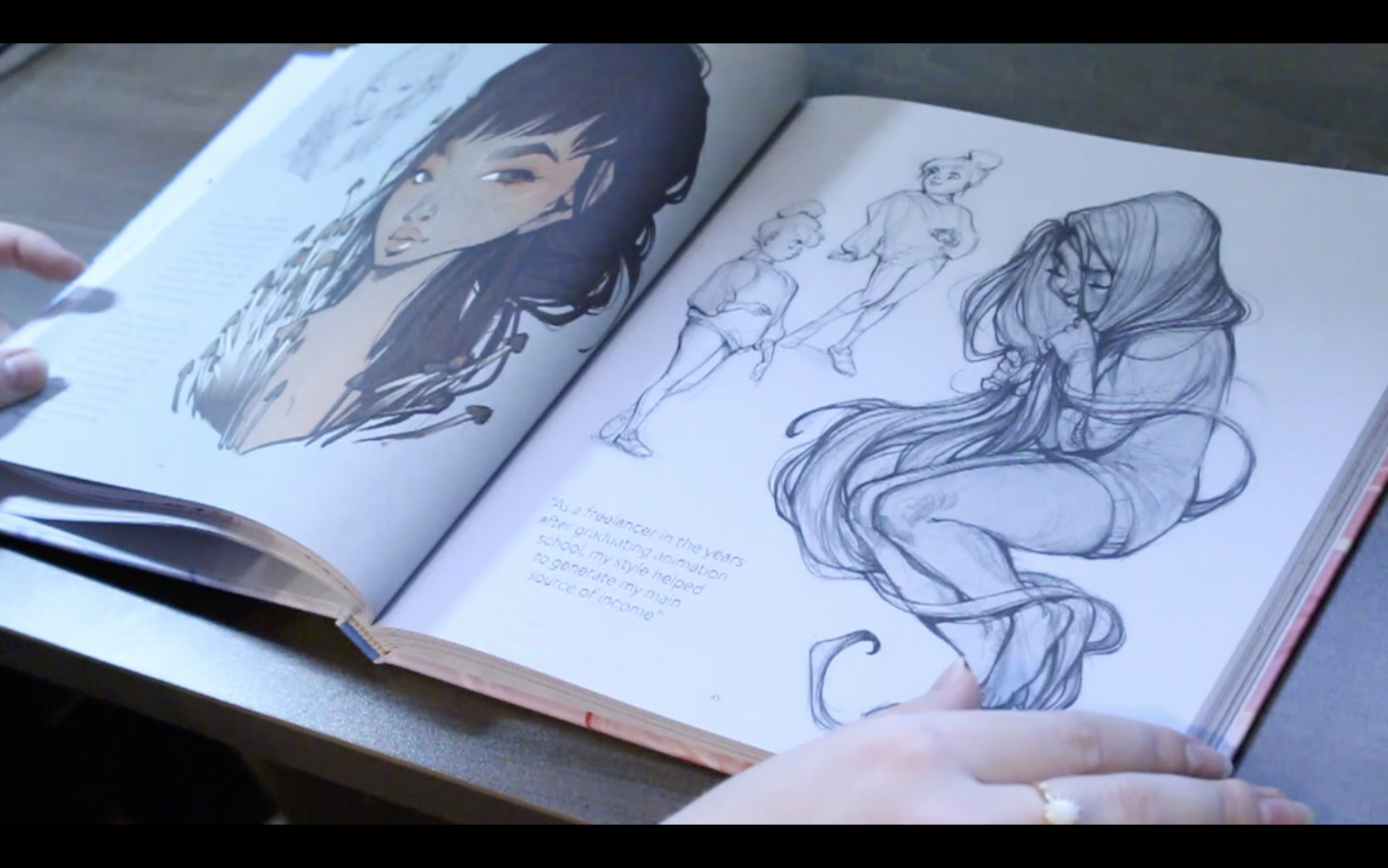 The Sketchbook Of Loish: Art In Progress (+Video Unboxing And Flip Through) Inside My Character Sketches
