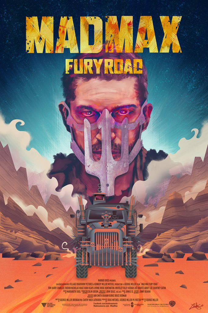 """Interview With An Artist - Ladislas Chachignot. And His Digital Movie Poster Artwork - Mad Max - """"Fury Road"""""""