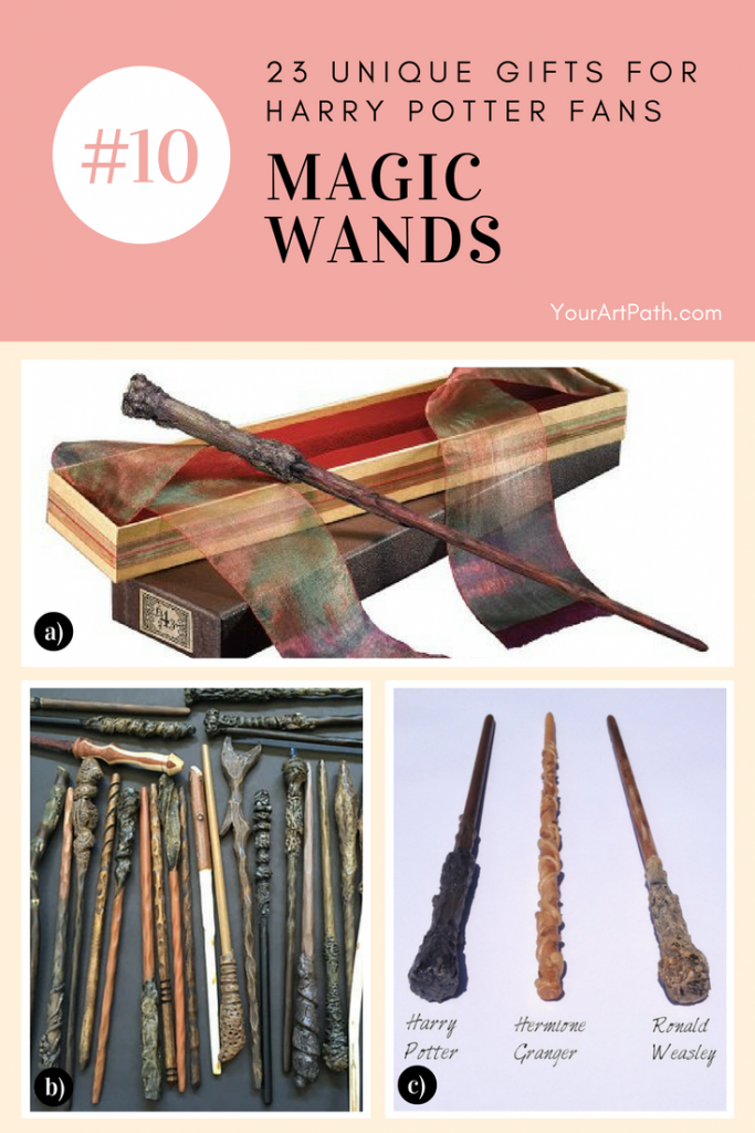 23 Best Gifts For Harry Potter Lovers. They are so magical, that I want them for myself! Featuring - Harry Potter Magic Wands!