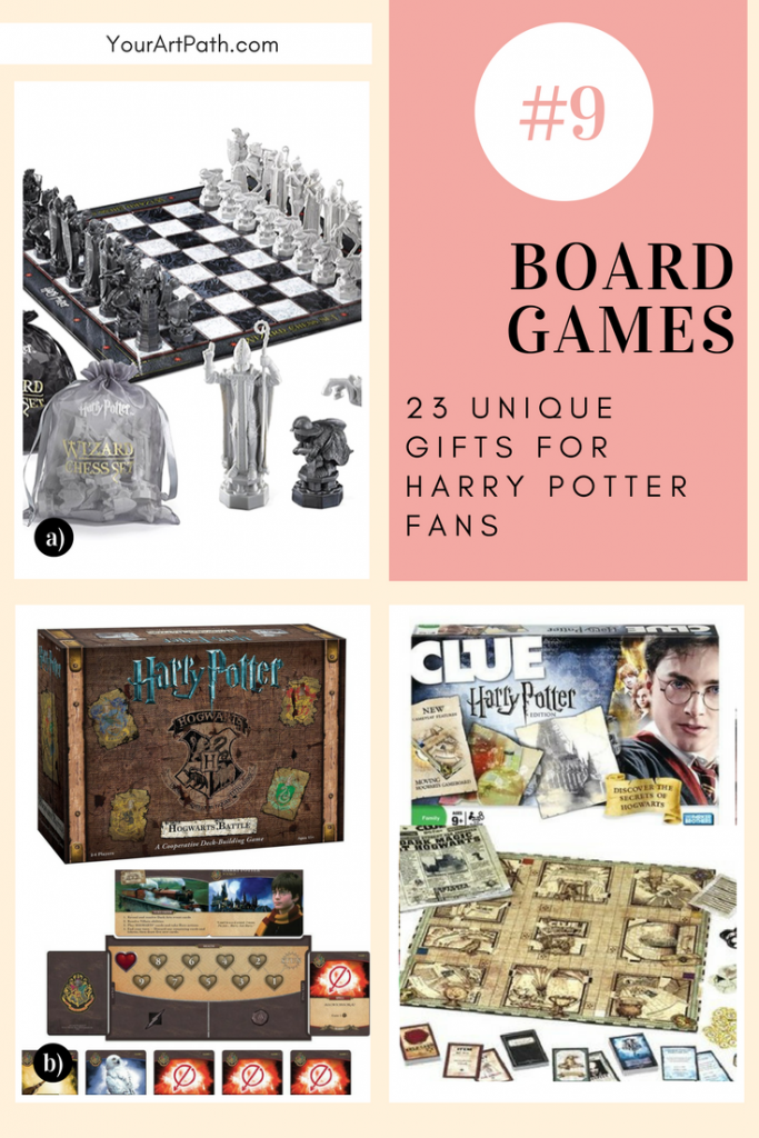 23 Best Gifts For Harry Potter Lovers. They are so magical, that I want them for myself! Featuring - Harry Potter Board Games!