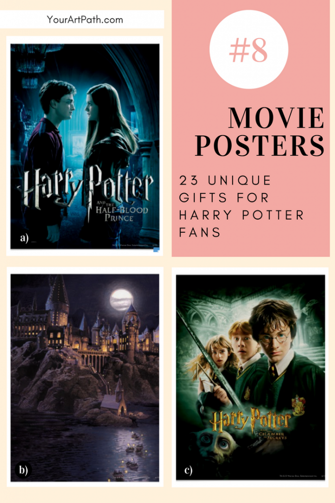 23 Best Gifts For Harry Potter Lovers. They are so magical, that I want them for myself! Featuring - Harry Potter Movie Posters!