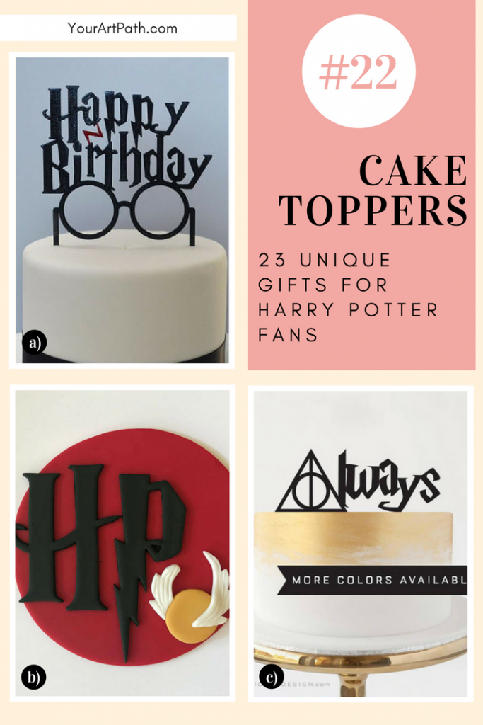 23 Best Gifts For Harry Potter Lovers. They are so magical, that I want them for myself! Featuring - Harry Potter Cake Toppers!