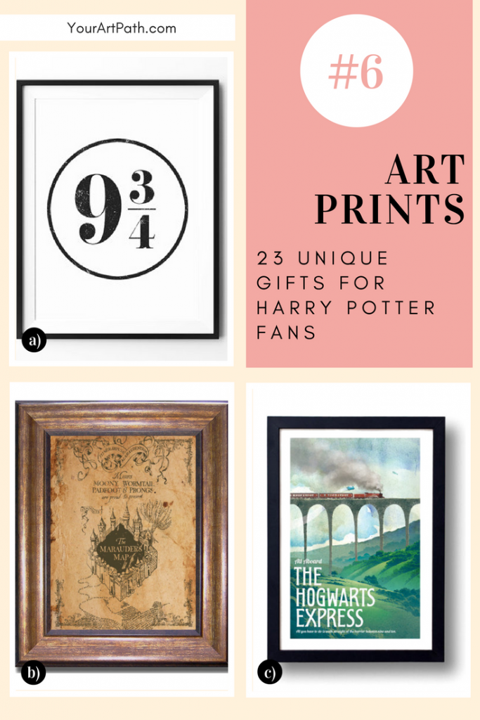 23 Best Gifts For Harry Potter Lovers. They are so magical, that I want them for myself! Featuring - Harry Potter Art Prints!