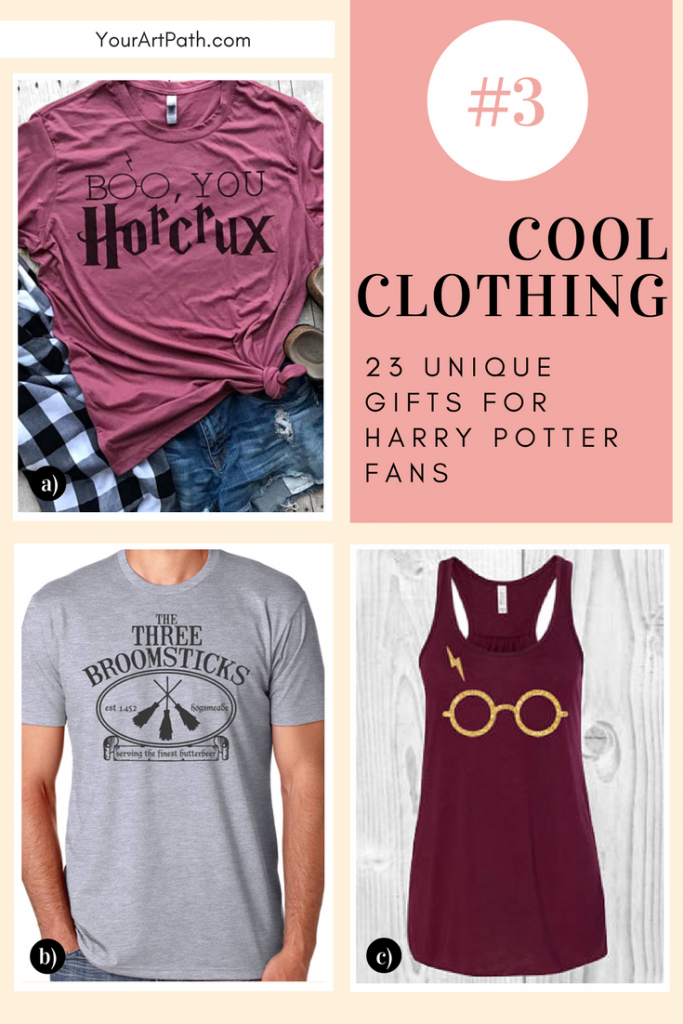 23 Best Gifts For Harry Potter Lovers. They are so magical, that I want them for myself! Featuring - Harry Potter Cool Clothing!