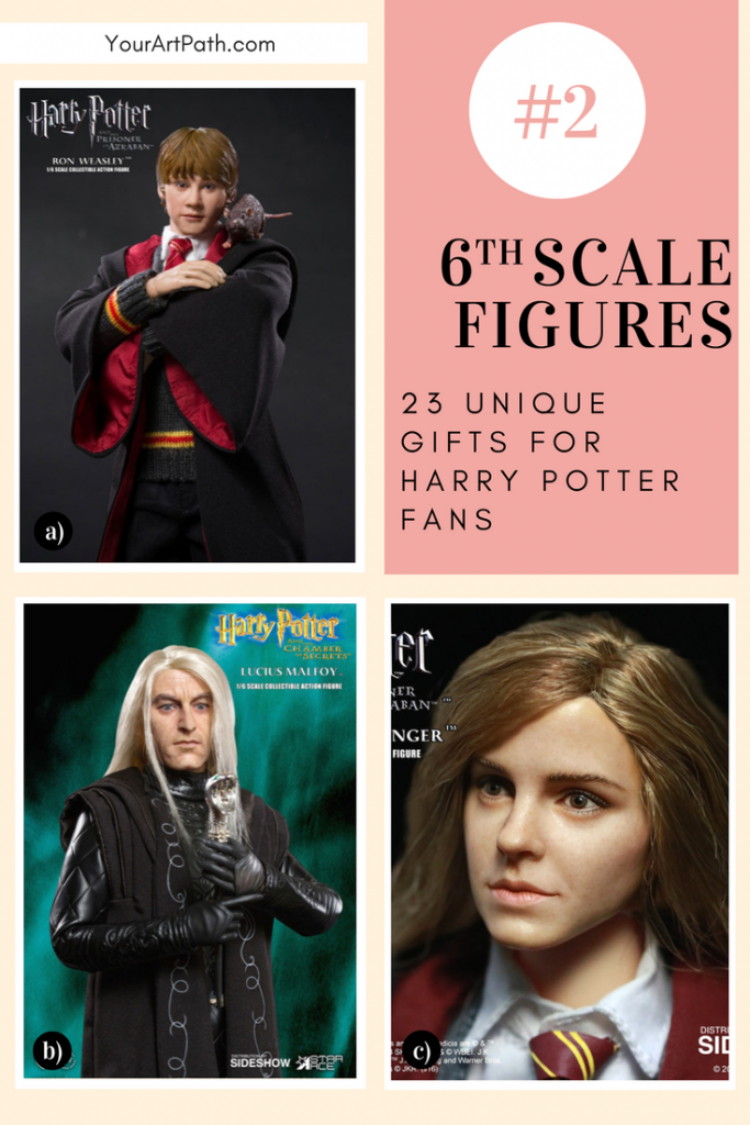 23 Best Gifts For Harry Potter Lovers. They are so magical, that I want them for myself! Featuring - Harry Potter 6th Scale Figures.
