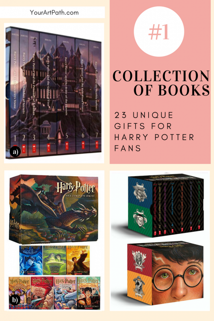 23 Best Gifts For Harry Potter Lovers. They are so magical, that I want them for myself! Featuring - Harry Potter Collection of Books!