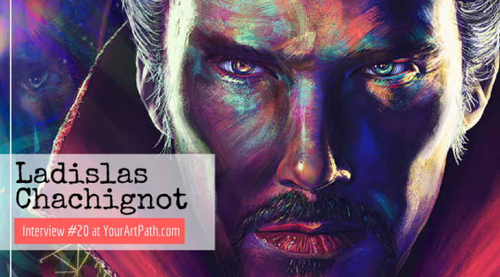 French Digital and Traditional Artist Ladislas Chachignot (Interview #20)