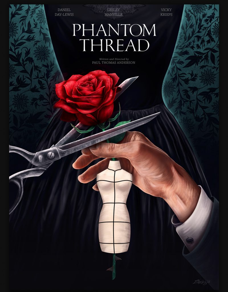 Interview With An Artist - Ladislas Chachignot. And His Digital Movie Poster Artwork -Phantom Thread