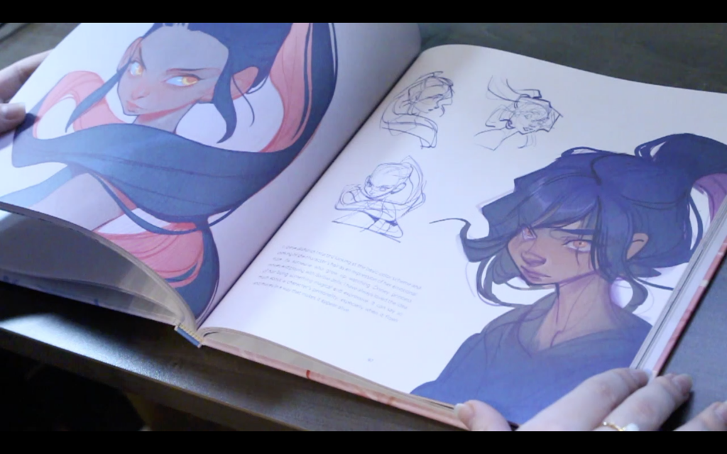 The Sketchbook Of Loish: Art In Progress (+Video Unboxing And Flip Through)Departure
